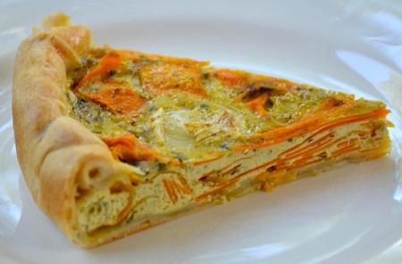 Une omelette aux carottes : Recette Facile