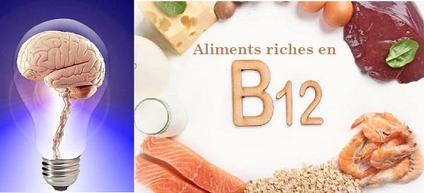 Aliments riches en vitamine B12 : Tonus et concentration