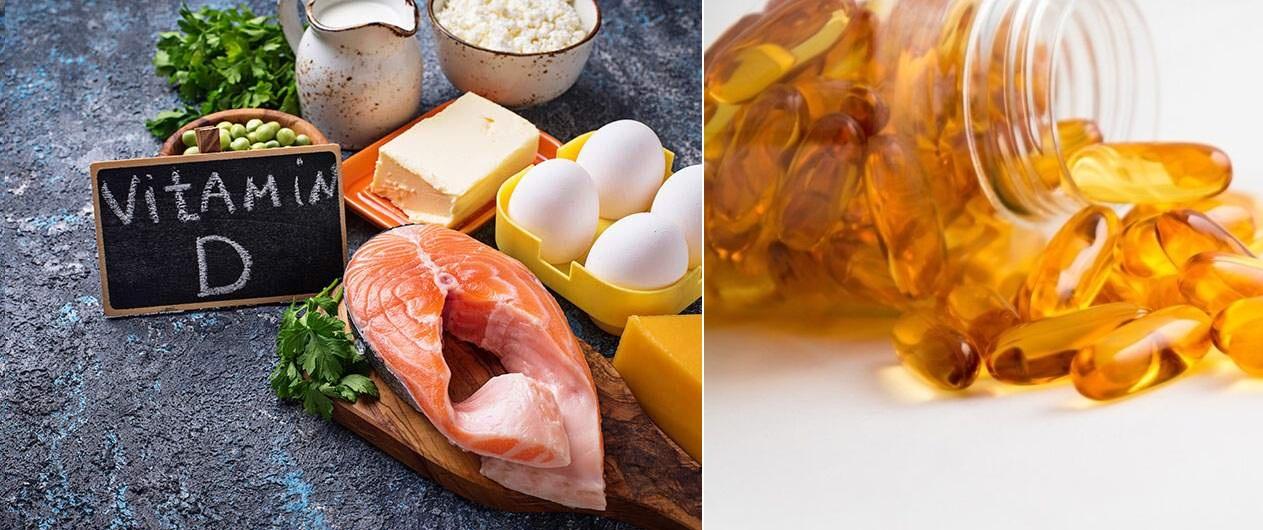 Les aliments riches en vitamine D : Traitement de la carence