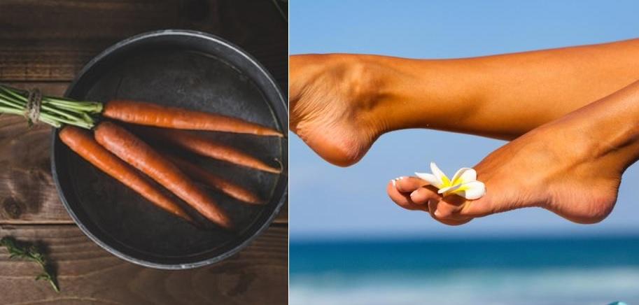 Une huile autobronzante fait maison à la cannelle et à la carotte